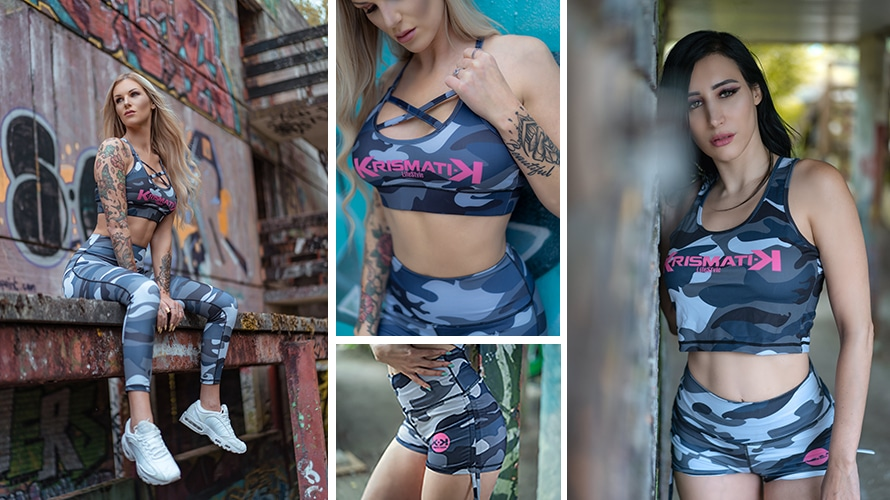 Collection Army - Vêtements Fitness Femme